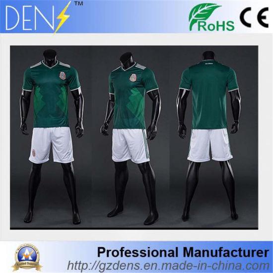 5f92315fbd8 2018 World Cup Cheap Football Uniforms Shirt Marker Soccer Jersey pictures    photos