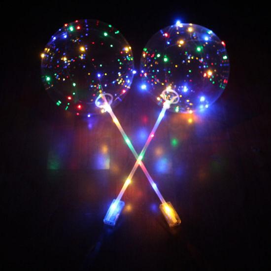 China LED Light Balloons Clear Balloon Wedding Birthday