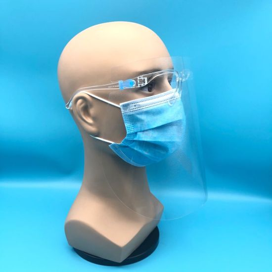 Hot Selling Anti-Oil Splashing Protection Glasses Frame Type Face Shield