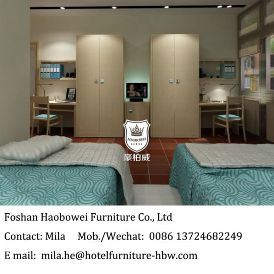 College Dorm Room Furniture Accommodation Furniture for Apartment Hotels
