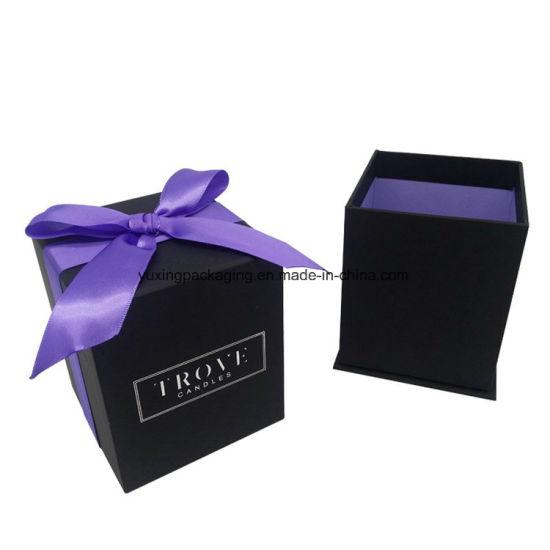 Top Grade Custom Fancy Ribbon Decorative Paper Jewelry Box
