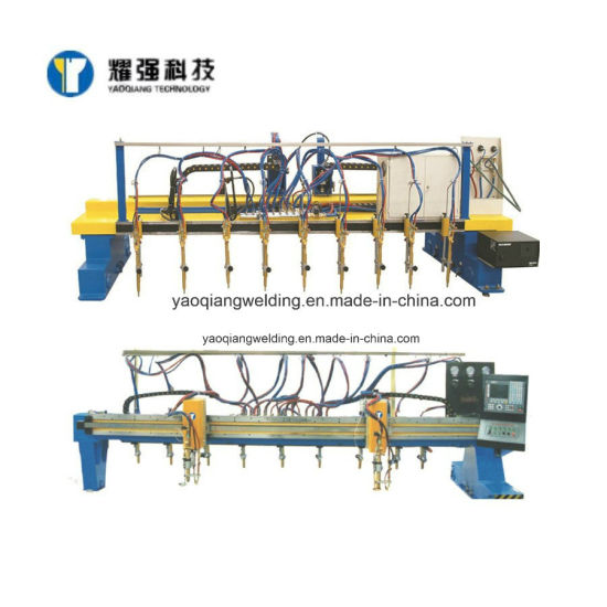 CNC Metal Steel Plate Automatic Gantry Type Flame Plasma Cutting Machine for H Beam