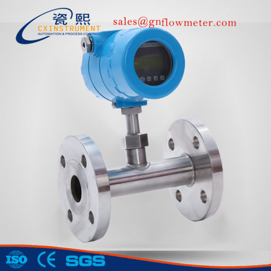 1.0% High Accuracy High Pressure Methane Thermal Mass Flow Meter pictures & photos