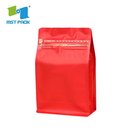 Custom Printing Laminated Ziplock Craft Coffee Pouch