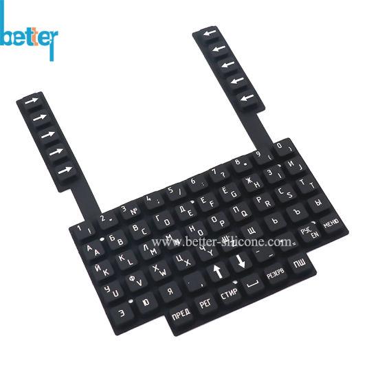 Customized Elastomer Silicone Rubber Keyboard