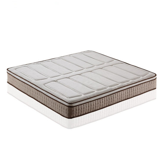 Any Size Luxury Design Euro Pillow Top Memory Foam Pocket Spring Mattress