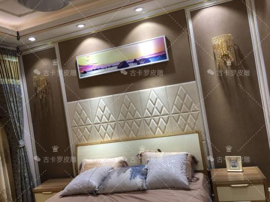 Decorative Panel 3D Wall Sticker Bedroom TV Board Decoration
