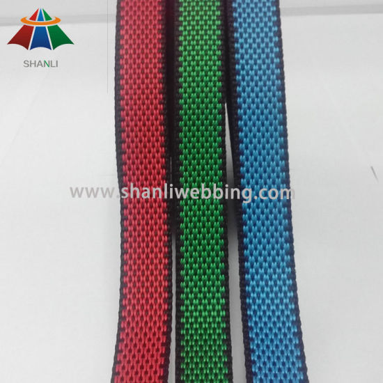 "5/8"" Inch Secondary Color Polypropylene Webbing From China Supplier"