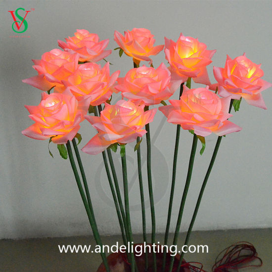 LED Artificial Rose Light for Party Decorative pictures & photos