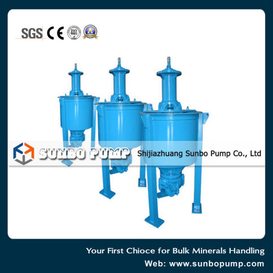 High Quality Centrifugal Mineral Sand Handling Froth Pump