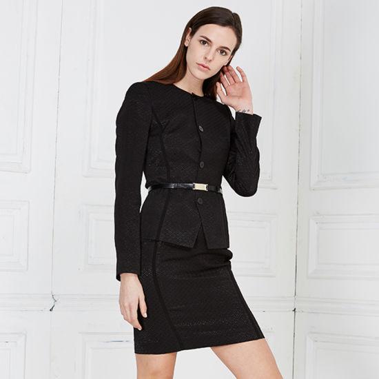 China New Fashionable Elegant Uniform Women Office Uniform Women