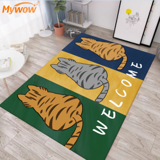 Carpet Roll Carton Design Synthetic Turf Floor Rug Door Mat