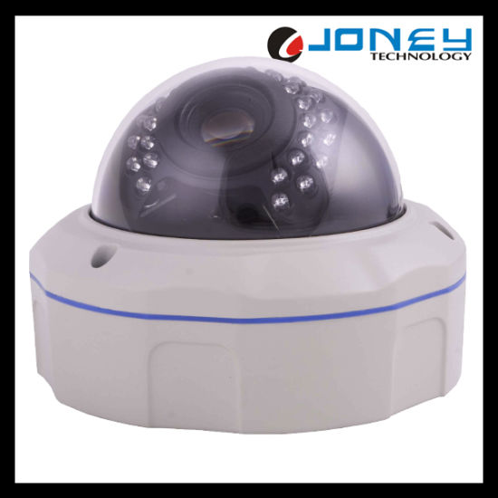 Network IR Vandal Proof Outdoor 2MP Dome IP Camera