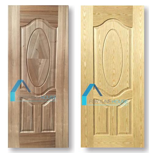China Plywood/ Veneer Molded/ Melamine HDF/ MDF Interior Wooden Door ...