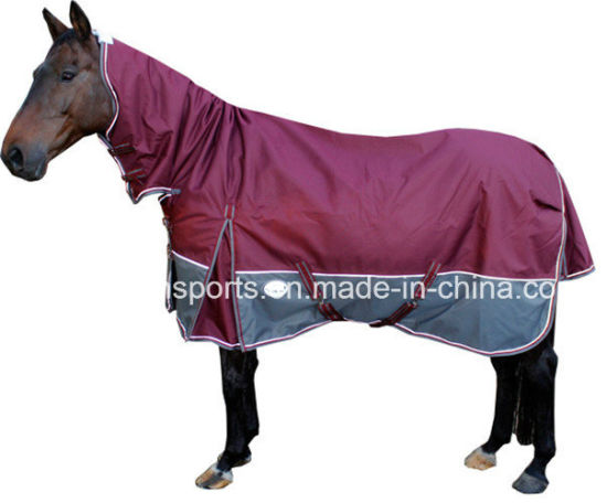Hot Item Water Resistant Polyester Winter Horse Rug