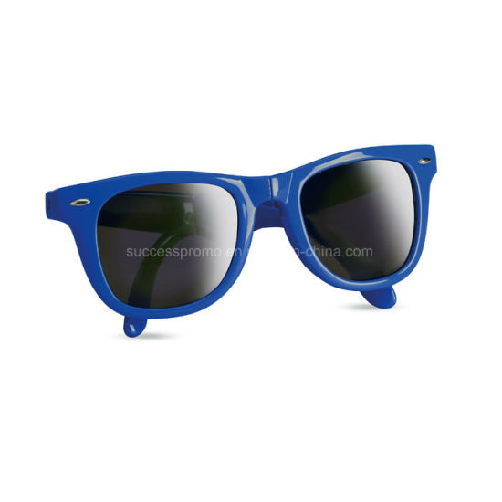 Foldable Sunglasses Includes Ce Mark and UV-400 Protection