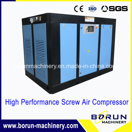 Air Cooled 80 to 120 Cfm 18 Kw Screw Air Compressor with Best Price