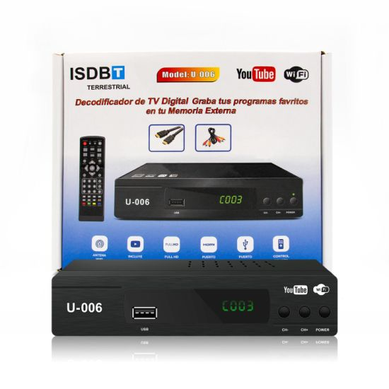 Costa Rica Ready Stock Digital TV Box ISDB-T TV Receiver pictures & photos
