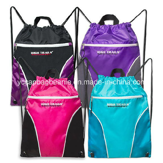 Promotional Cheap Backpack Drawstring Bag pictures & photos