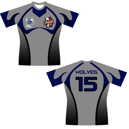 Rugby Shirts Design Your Own | China Custom Sublimation Rugby Shirts Rugby Jersey With Your Own