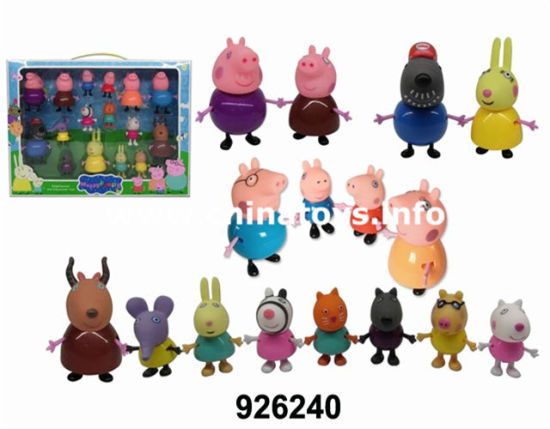 2017 Funny Toy Soft Plastic Pig Ferris Wheel (926236) pictures & photos