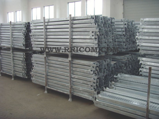 Galvanized Scaffold Steel Planks pictures & photos