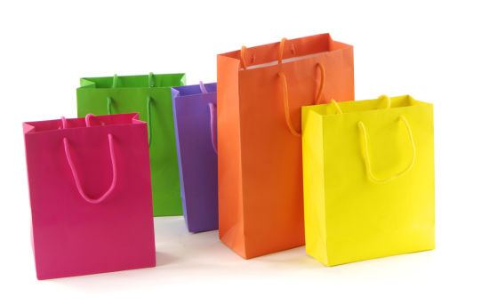 Resuable Paper Shopping Gift Bags for Garments / Souvenirs (FLP-8946)