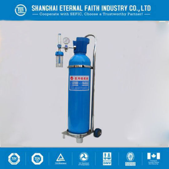Aluminum Small Portable Oxygen Cylinder Medical Oxygen Gas Cylinder pictures & photos