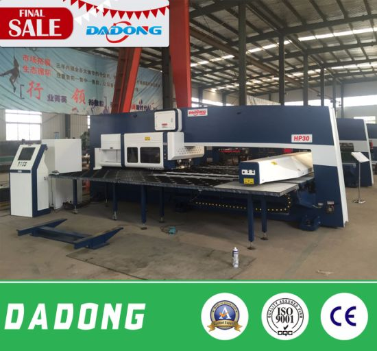 HP30 Curtain Wall Use Wide Sheet CNC Punching Machine pictures & photos