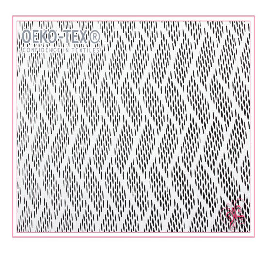 Sportswear Warp Knitted Polyester Athletic Mesh Fabric