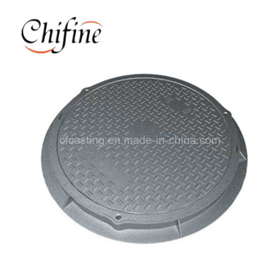 OEM Ductile Iron Casting Manhole / Sewage Cover pictures & photos