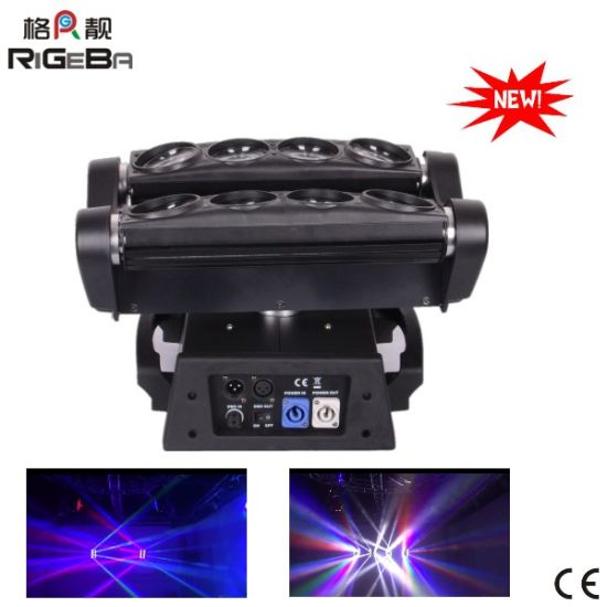 8*10W LED Spider Beam Effect Moving Head for Stage Light