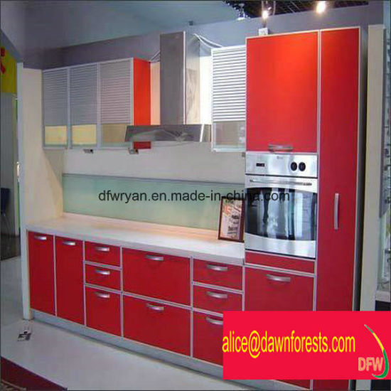 Mordern Design PVC MDF Kitchen Cabinet pictures & photos