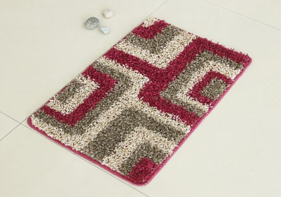 Comfortable PP Rugs, with Elbow Yarns, Maze Pattern
