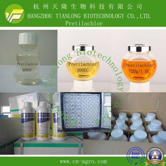 Price preferential herbicide Pretilachlor (95%TC, 300EC, 500 EC, 720g/l EC)