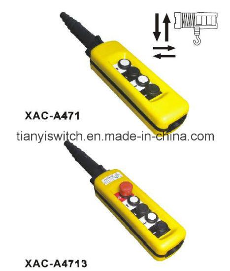 Xac-A471 or Xac-A4713 Remote Control Stations Crane Hoist Switch