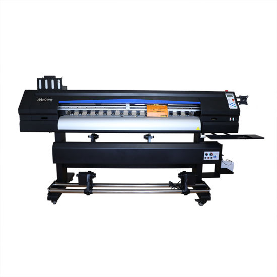 1.6m High Stability Automatic Sublimation Printer with 2 Printhead