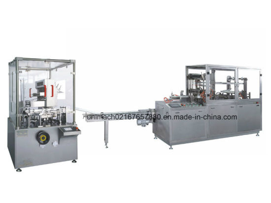 Automatic High Speed Translucent Film Glass Bottle Ointment/Cartoning Packing Machine