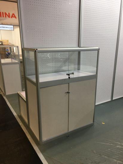 Aluminium Gl Display Cabinet Showcase For Tradeshow Pictures Photos