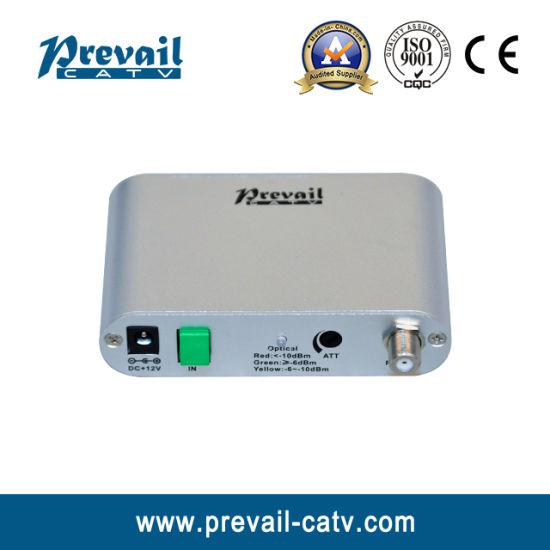 AGC Cable TV FTTH Mini Optical Receiver Node with Pon Port