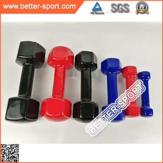 High Quality Colorful Vinyl Dumbbell pictures & photos