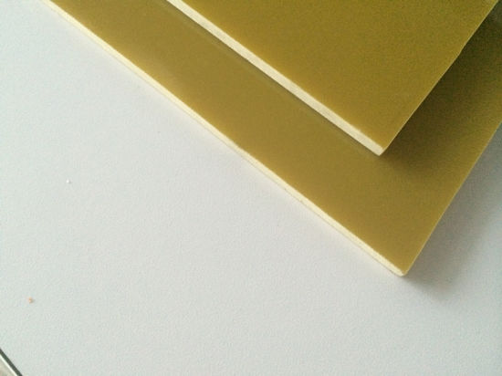 China Epoxy Fiberglass Sheet for Terminal Boards (G10/FR4