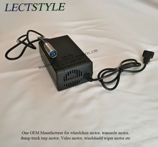 24V 2A XLR Mobility Electric Scooter wheelchair Gel//Lead Acid Battery Charger US