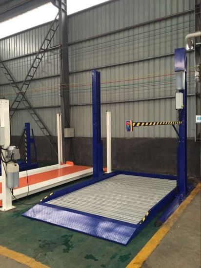 Reliable and Safe Two Post Car Parking Lift with Platform