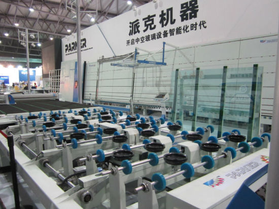 Vertical Automatic Flat Press Double Glazing Glass Production Line pictures & photos