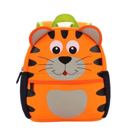 Neoprene Children 3D Kids Bag Cute Animal Design Backpack Toddler Kid School Bags Kindergarten Cartoon Giraffe Monkey Owl