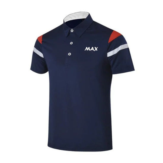 High Quality Customized Popular Logo Men Golf Polo Shirts