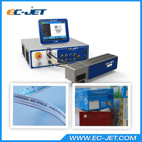 Small Scale Desktop Fiber Laser Marking Machine for Iron Tube (EC-laser) pictures & photos
