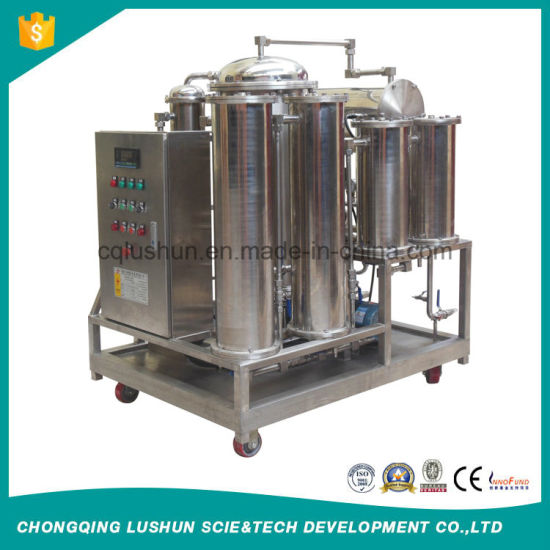 Lushun Brand Zt -I-Z Stainless Steel Separate Water and Oil Filtrtion Diesel /Fire-Resistant Hydraulic Oil Purifier. pictures & photos