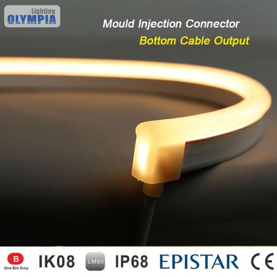 China Ultra Thin LED Strip Underwater IP68 Waterproof Neon Light